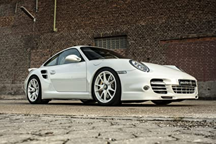Porsche 911 (997) Turbo S by McChip-DKR (2013) Car Art