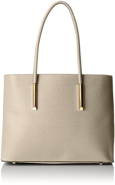 Damen Marbella Classic 3 in 1 Combo Bag Tote, Grau (Grey), 13.5x26x45 cm Swankyswans