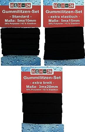 24 St/ück Gummizug Basics