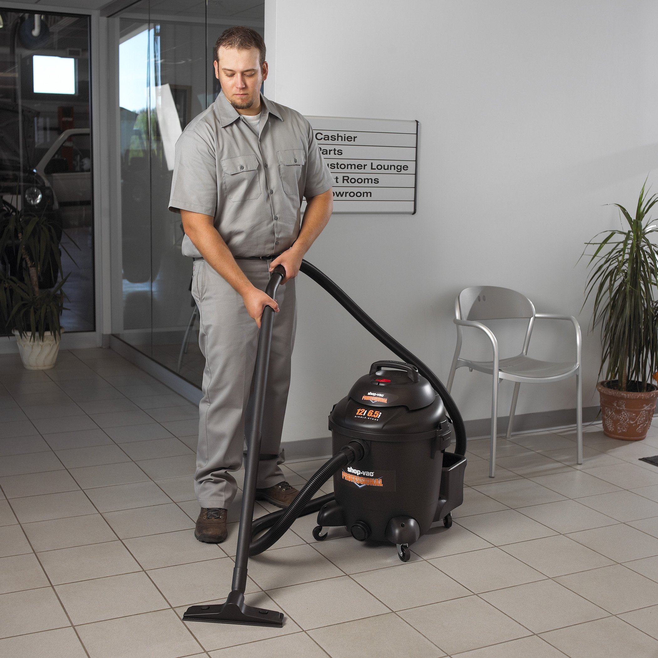 Shop-Vac 9621210 Professional Commercial Duty Vacuum - 12 Gallon Capacity by Shop-Vac (Image #7)