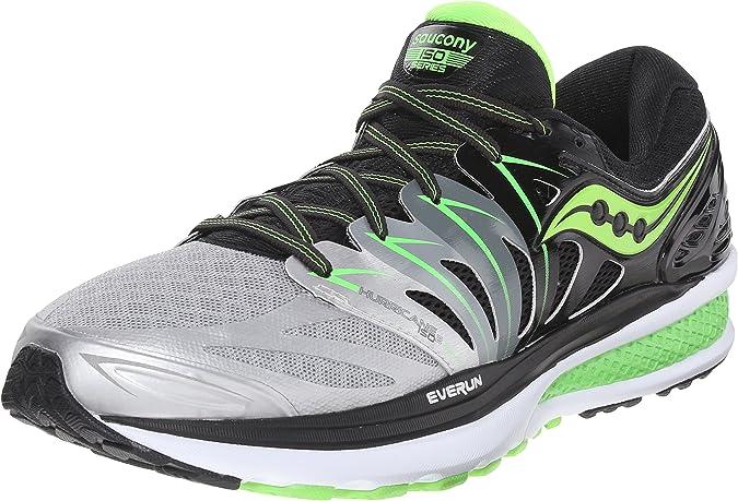 Saucony Hurricane ISO 2, Zapatillas de Running para Hombre: Amazon ...