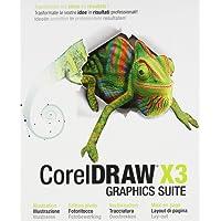 CorelDraw Graphics Suite X3/FR/IT CD Win