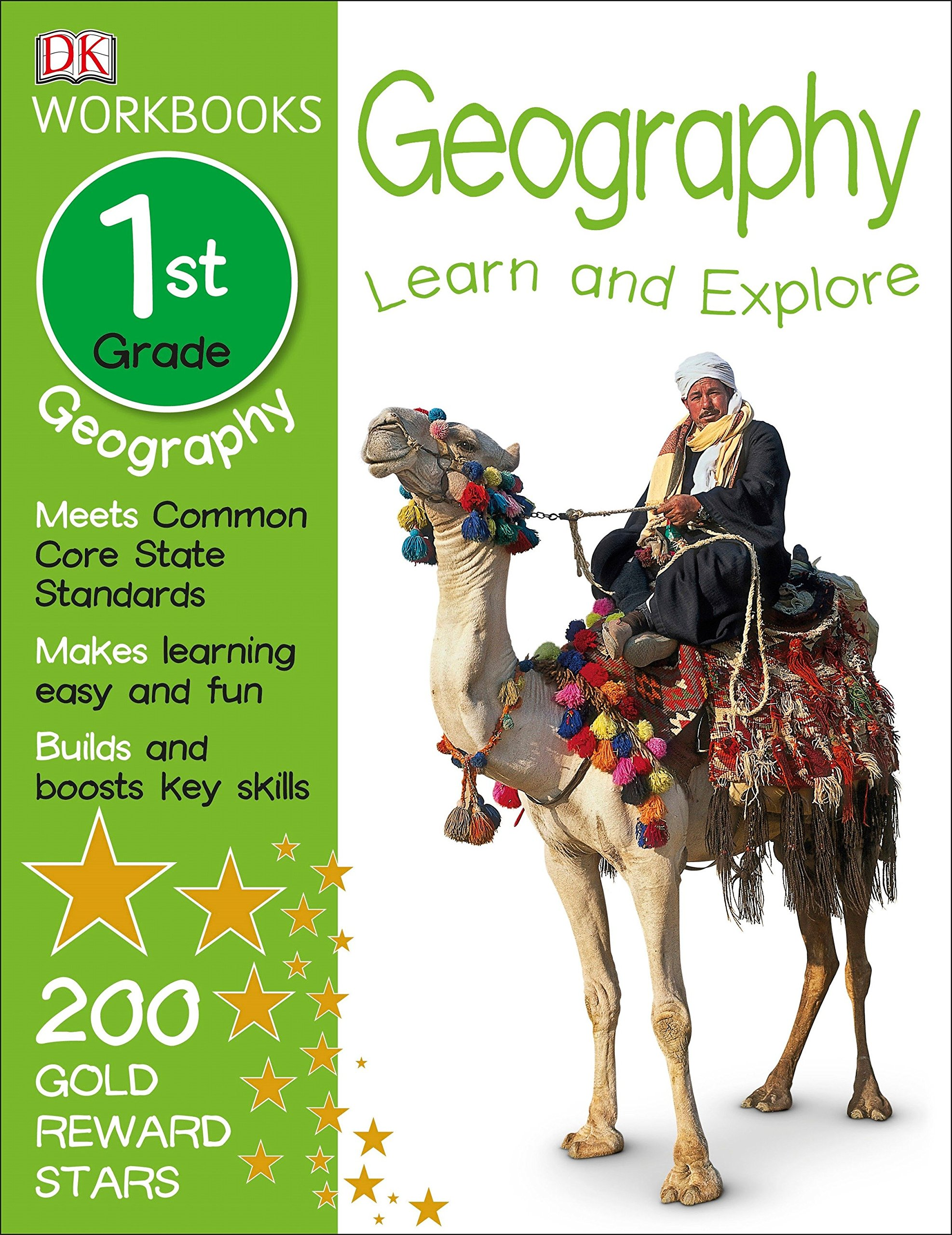 Download DK Workbooks: Geography, First Grade: Learn and Explore PDF