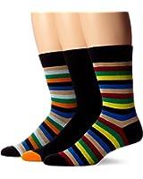 Ben Sherman Men's 3 Pack James Crew Sock
