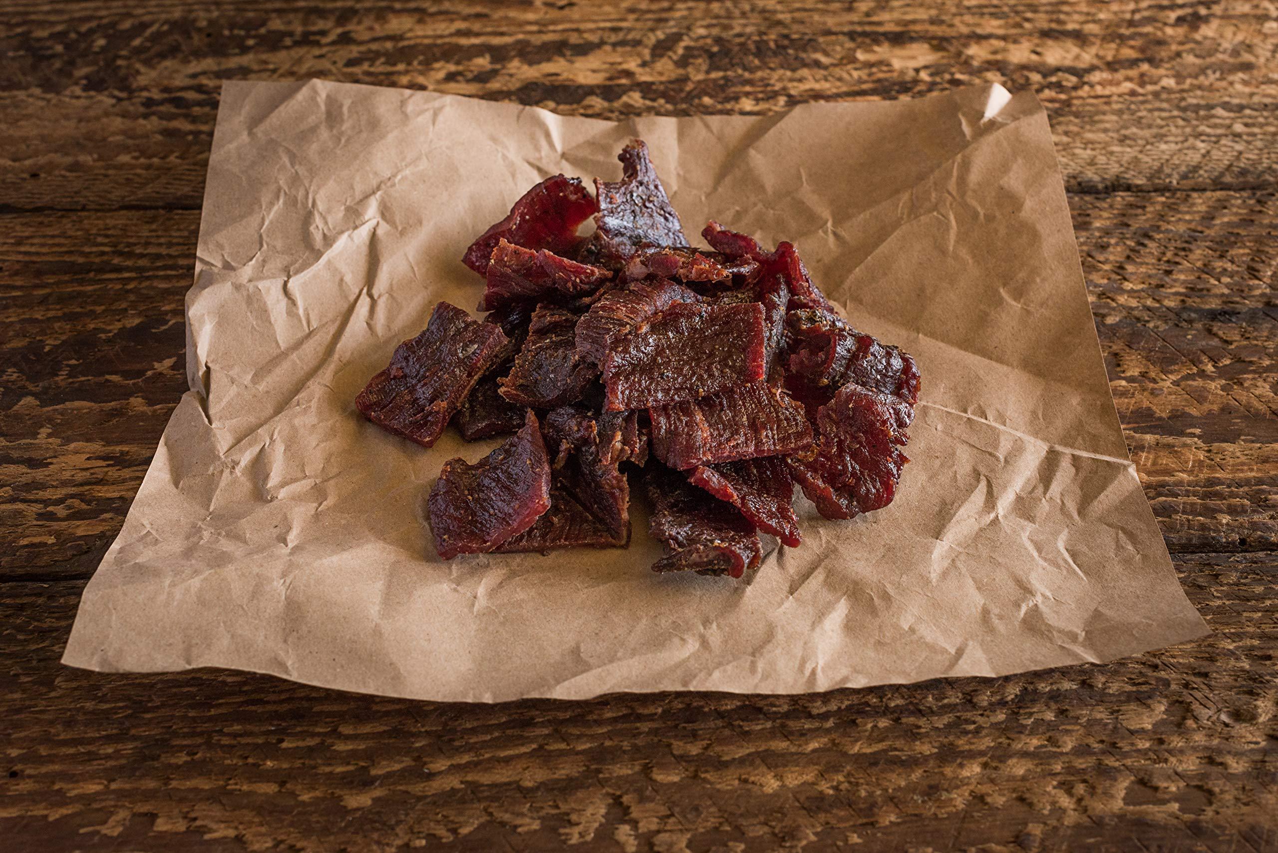 Tillamook Country Smoker All Natural, Real Hardwood Smoked Beef Jerky, Spicy & Sweet 10-oz Bag by Tillamook (Image #6)