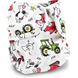 Buttons Cloth Diaper Cover - One Size (Acres) by Buttons Diapers