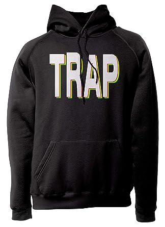LaMAGLIERIA Sudadera Unisex Trap - Cod. 02 - Sudadera con Capucha Rap Hip-Hop