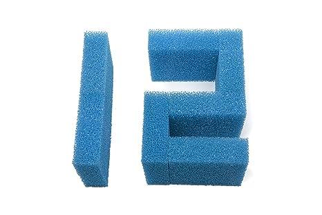 Sin marca Estera de esponja de filtro grusa compatible Pecera ajusta Juwel Jumbo/BioFlow 8.0