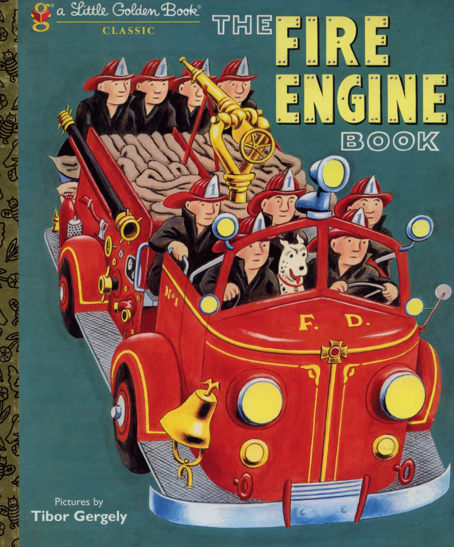 Fire Engine Book Little Golden product image