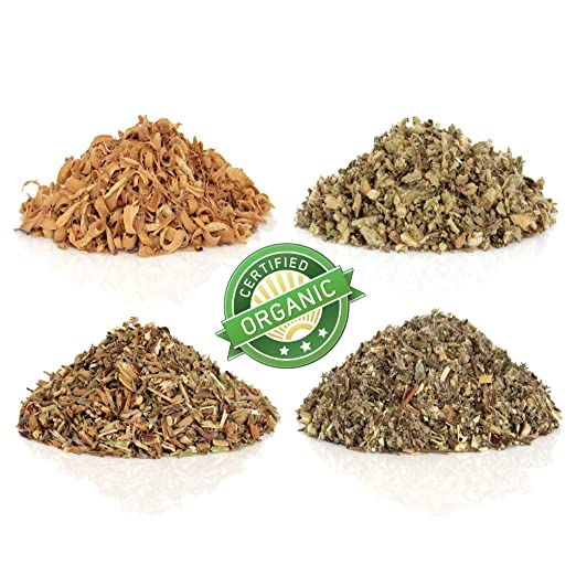 Organic Red Clover Herb Cut and Sifted C/S 100% Fresh 1 oz. Bag