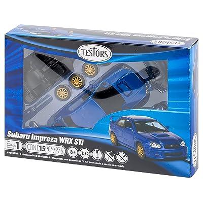 Testors 630018NT Prepainted Metal Car Model Kit, Blue: Arts, Crafts & Sewing