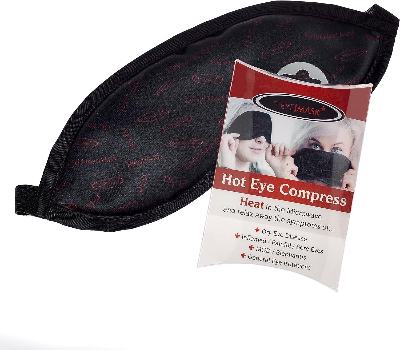 La máscara de ojo - Un Ojo caliente bolsa de la compresa de calor para el ojo seco, blefaritis, MGD y otras enfermedades de los ojos