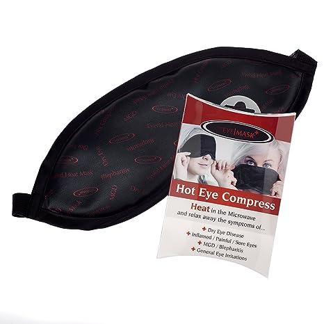 La máscara de ojo - Un Ojo caliente bolsa de la compresa de calor para el