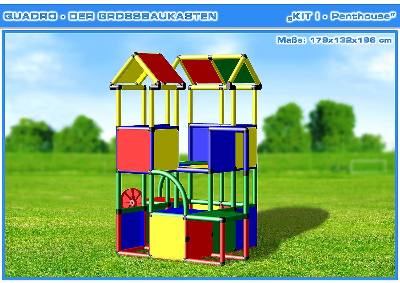 Klettergerüst Schiff : Quadro kit i klettergerüst kletterturm: amazon.de: spielzeug