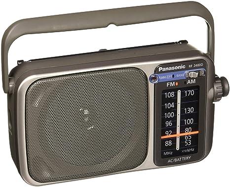 3cd478d88 Amazon.com: Panasonic RF-2400D AM / FM Radio, Silver: Home Audio & Theater