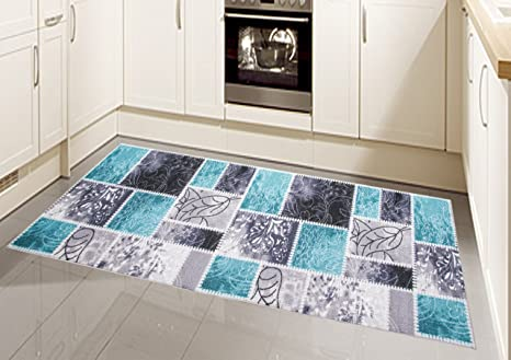 Tappeto Moderno Turchese : Traum tappeto moderno kilim gel runner cucina cucina passatoia