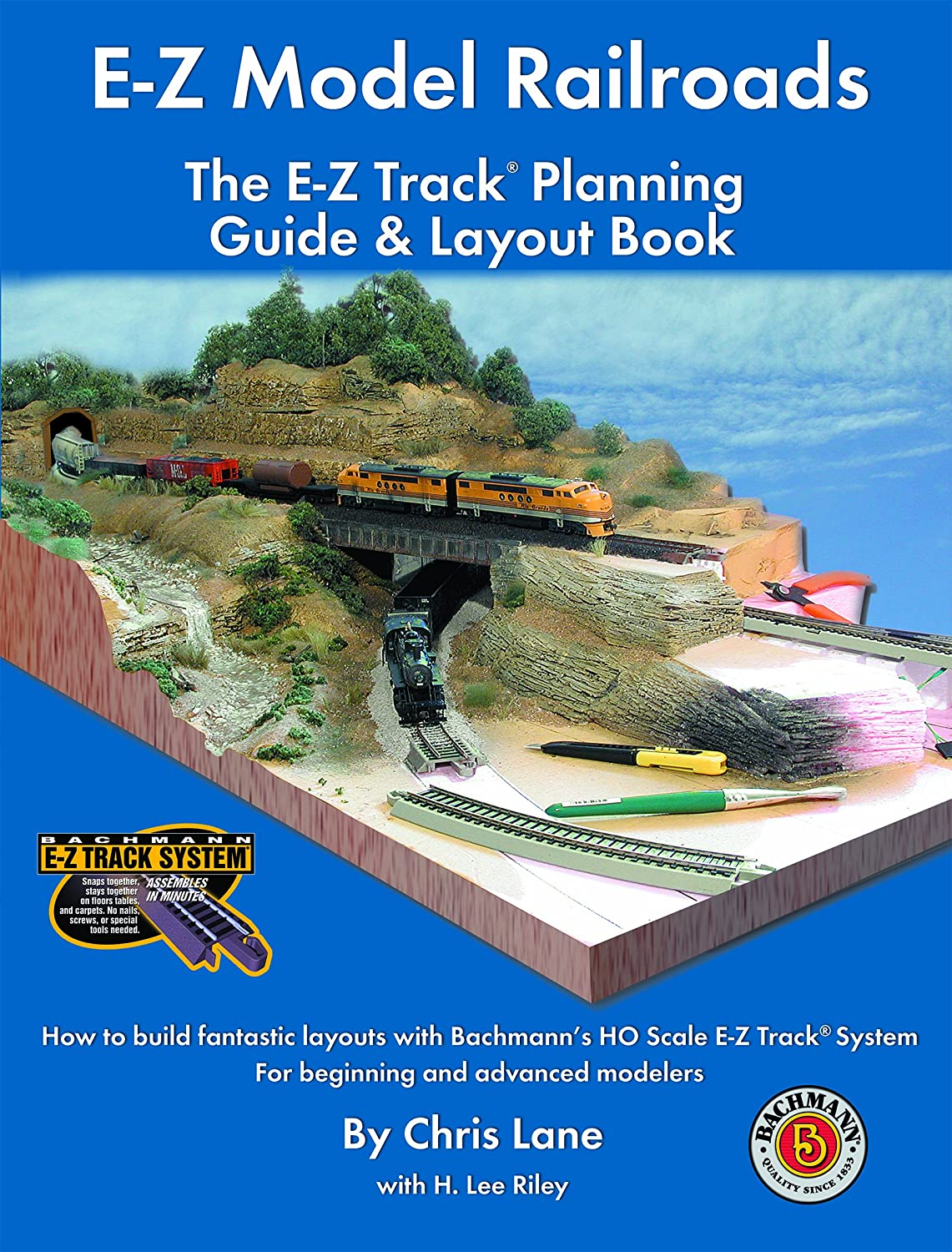 Amazon.com: E-Z Model Railroads: The E-Z Track Planning Guide & Layout  Book: Chris Lane, H. Lee Riley: Toys & Games