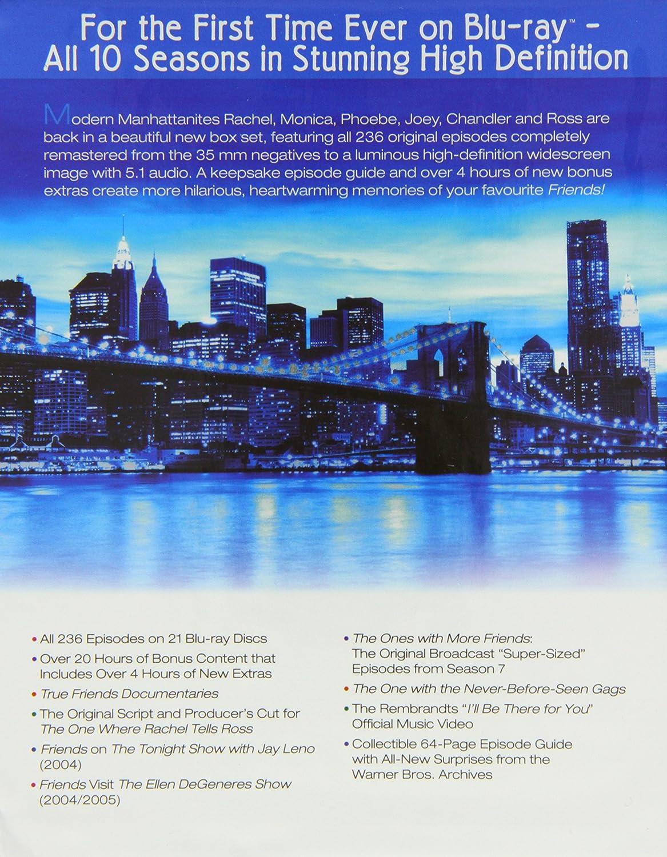 Friends - Complete Season 1-10 Blu-ray 1994 Region Free