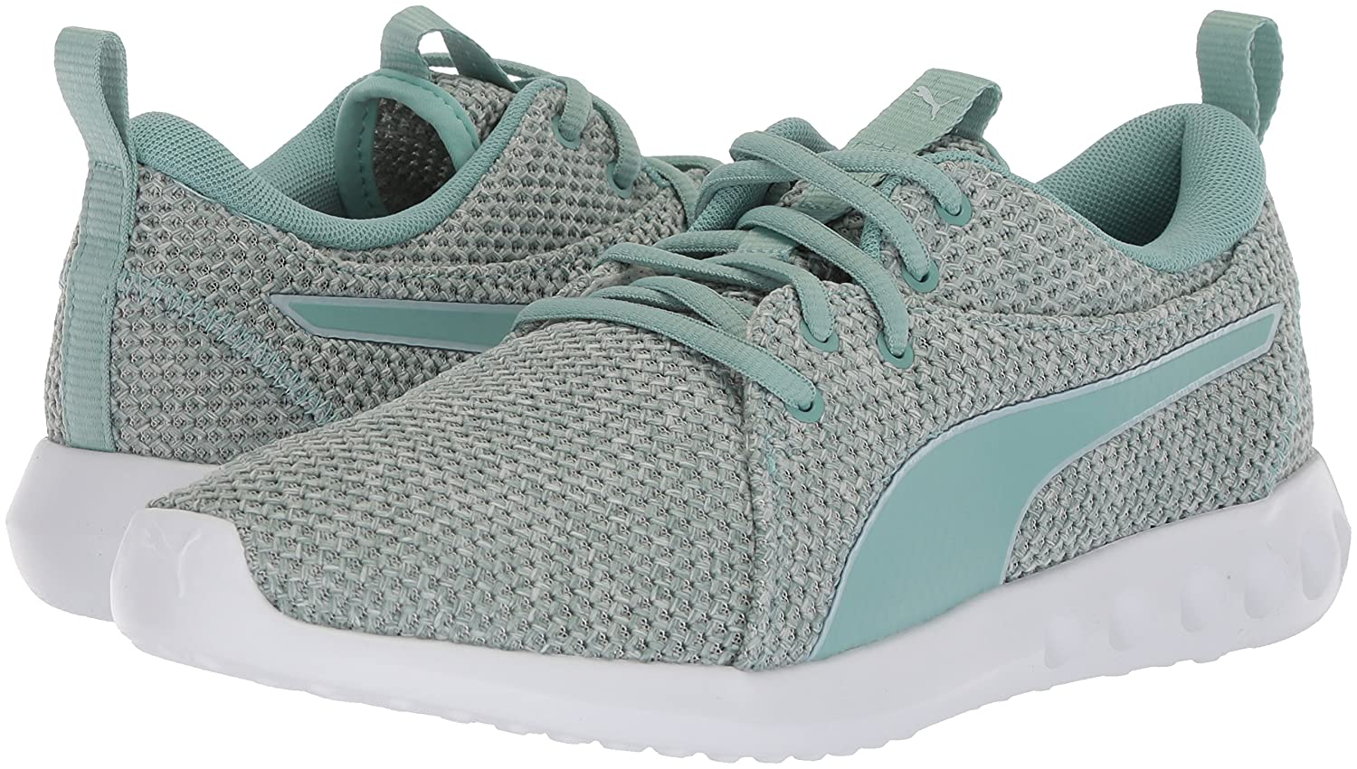 PUMA Women's 10.5 Carson 2 Nature Knit Wn Sneaker B0721JFJ2Q 10.5 Women's B(M) US|Aquifer-blue Flower 17650d