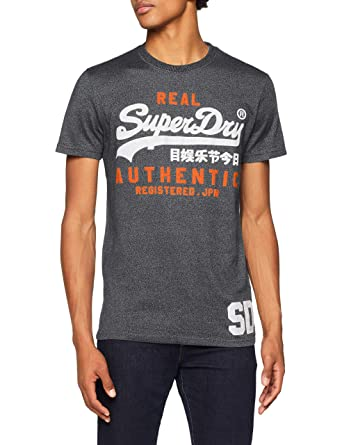 74b541213d5ce Superdry Men s Vintage Authentic Duo Tee Kniited Tank Top  Amazon.co ...