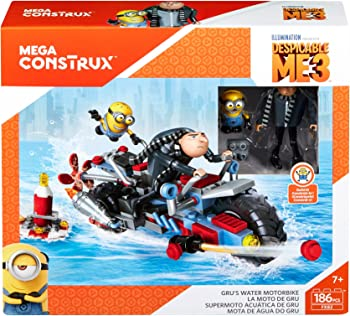 Mega Construx Despicable Me 3 Gru's Building Set