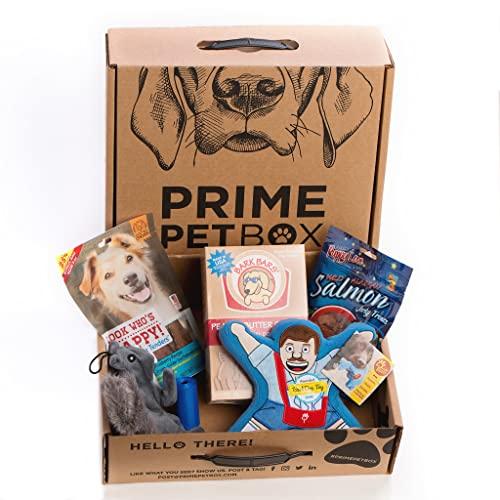 Prime Pet Box Small Dog Gift Box Care Package