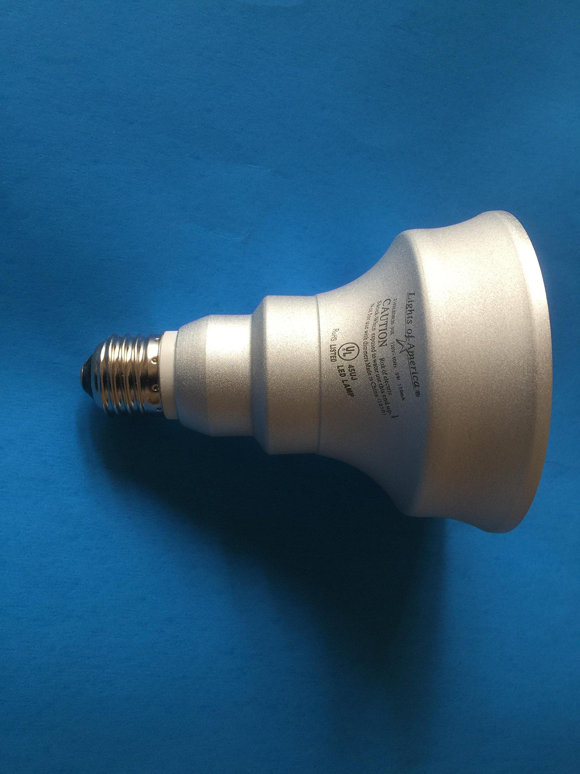 Lights of America 2102LEDR30-LF3-8 9-Watt Power LED R-30 Bulb