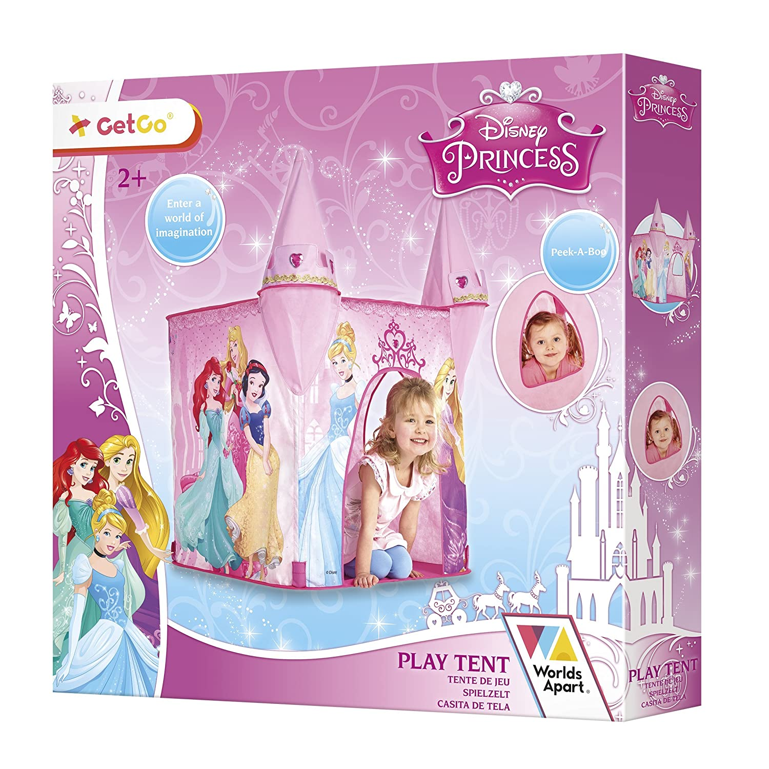 Amazon.com Worlds Apart Disney Princess Play Tent (Dispatched From UK) Toys u0026 Games  sc 1 st  Amazon.com & Amazon.com: Worlds Apart Disney Princess Play Tent (Dispatched ...