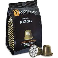 Yespresso Capsule Nespresso Compatibili Napoli - Confezione da 100 Pezzi