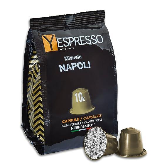 Yespresso Capsule Nespresso Compatibili Napoli - Confezione da 100 Pezzi 300ae69d59ff