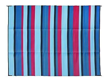 Amazon Com Epic Rv Mat Patio Rug Striped Pattern 9x12 Kitchen Dining