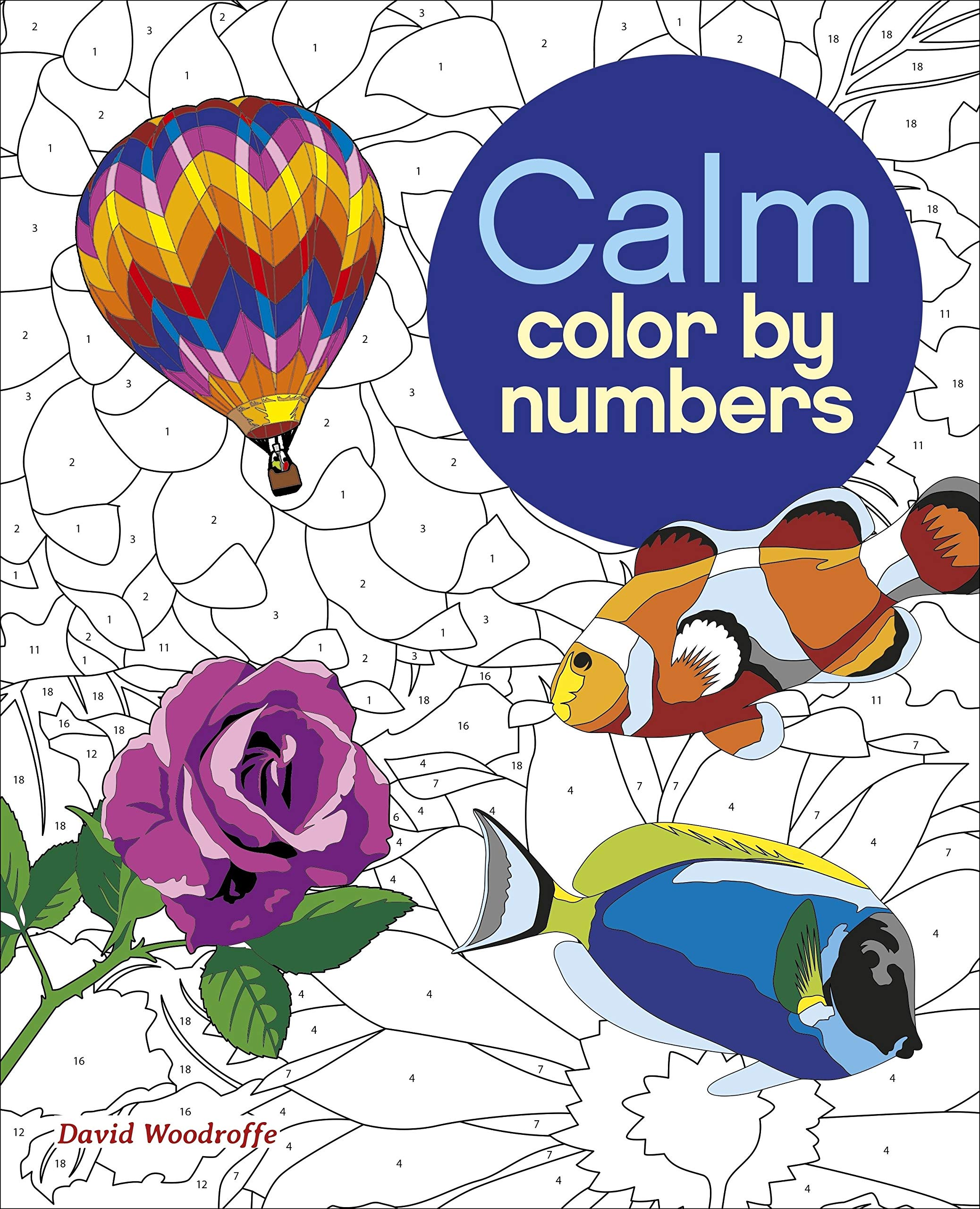Amazon.com Calm Color by Numbers Sirius Color by Numbers ...
