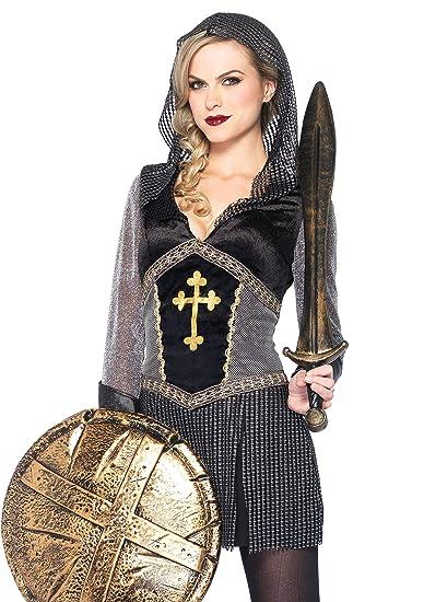 Amazoncom Leg Avenue Womens Joan Of Arc Costume Clothing