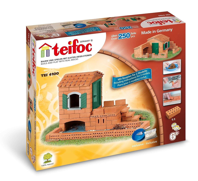 Teifoc 4100 - Waterhouse Cottage - Build with real Bricks & Cement ...