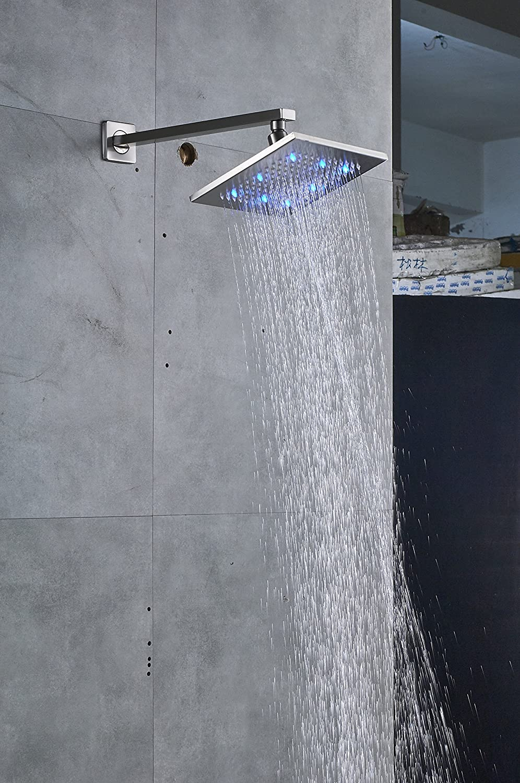 Amazon.com: Senlesen - Juego de grifos de ducha con 3 luces ...