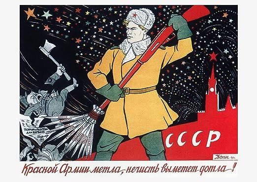 Ritorneremo World War Two WW2 Propaganda Giclee/' reproduction print 24x36 inch