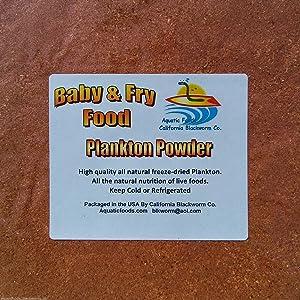 AFB Plankton Powder Fry & Baby Food - Aquatic Foods Baby & Fry Foods