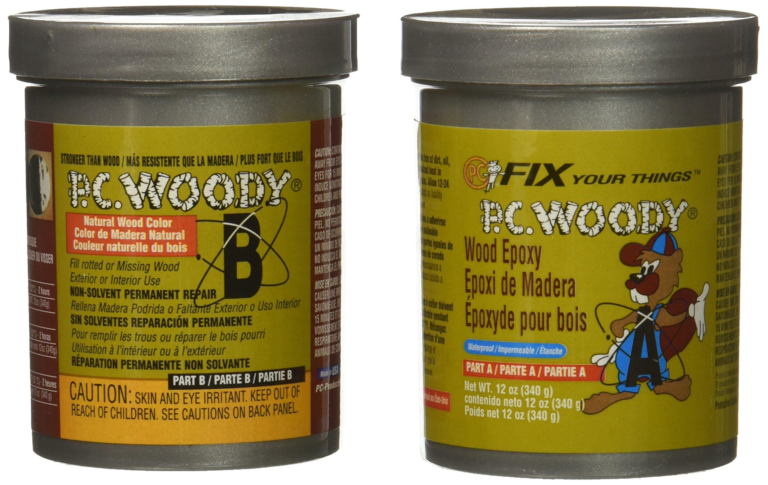 Protective Coatings 18434 12 oz. PC-Woody Epoxy Paste by Protective Coatings (Image #1)