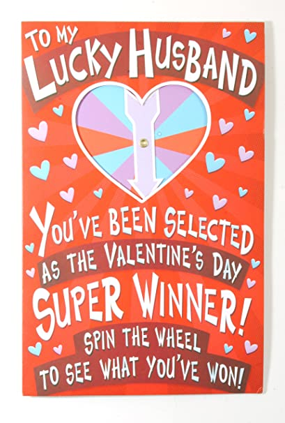 Amazon valentine card to husband funny to my lucky husband valentine card to husband funny to my lucky husbandamerican greetings m4hsunfo
