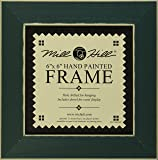 Mill Hill Wooden Frame, 6 by 6-Inch, Matte Green