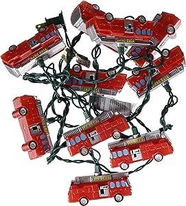 Kurt Adler 10-Light Fire Truck Light Set