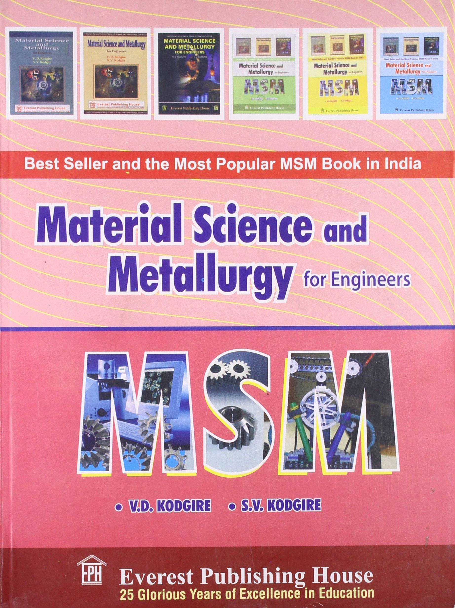 Material science & metallurgy by o. P. Khanna.