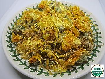 Amazon organic marigold flower tea dried loose leaf by organic marigold flower tea dried loose leaf by nature tea 8 oz mightylinksfo