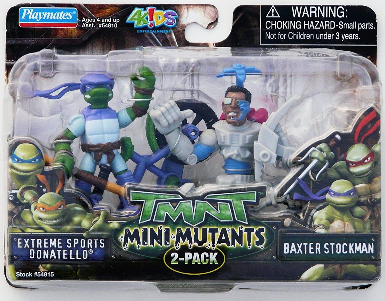 Amazon.com: TMNT Mini mutantes 2 Pk – Deportes Extremos ...