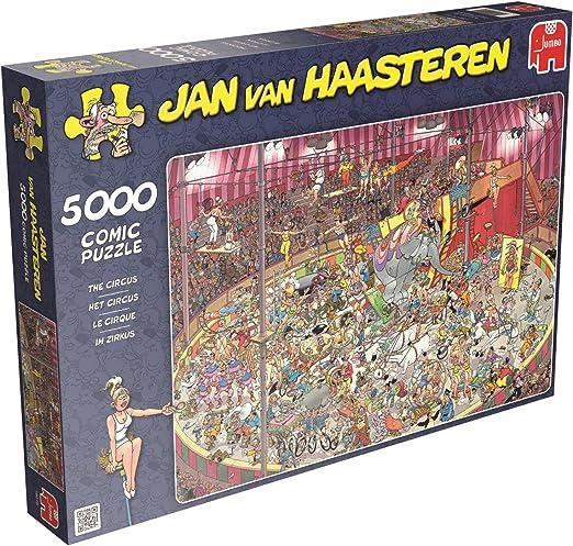 Jumbo Games Jan Van Haasteren – Puzzle de Rompecabezas The Circus (5000 Piezas): Amazon.es: Juguetes y juegos