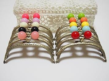 10 de color bola de caramelo establecer * monedero boquilla ...