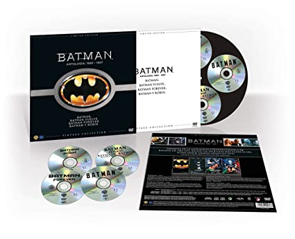 Batman Colección Vintage (Funda Vinilo) [DVD]: Amazon.es: Michael ...