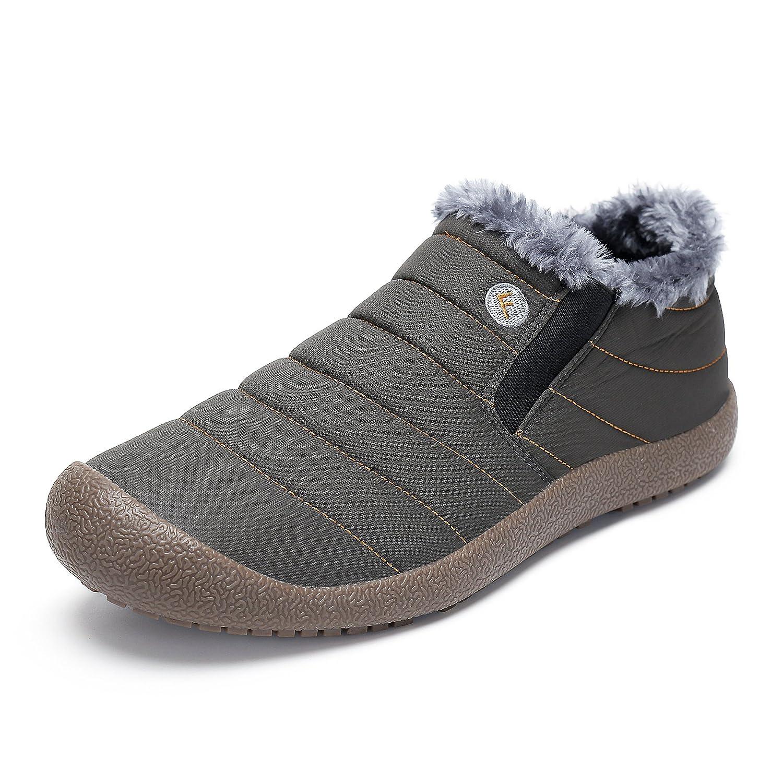 3fbb22792f7db SAGUARO® Homme Femme Bottes Hiver Neige Cheville Boots Chaudes Fourrure  Bottines  Amazon.fr  Chaussures et Sacs