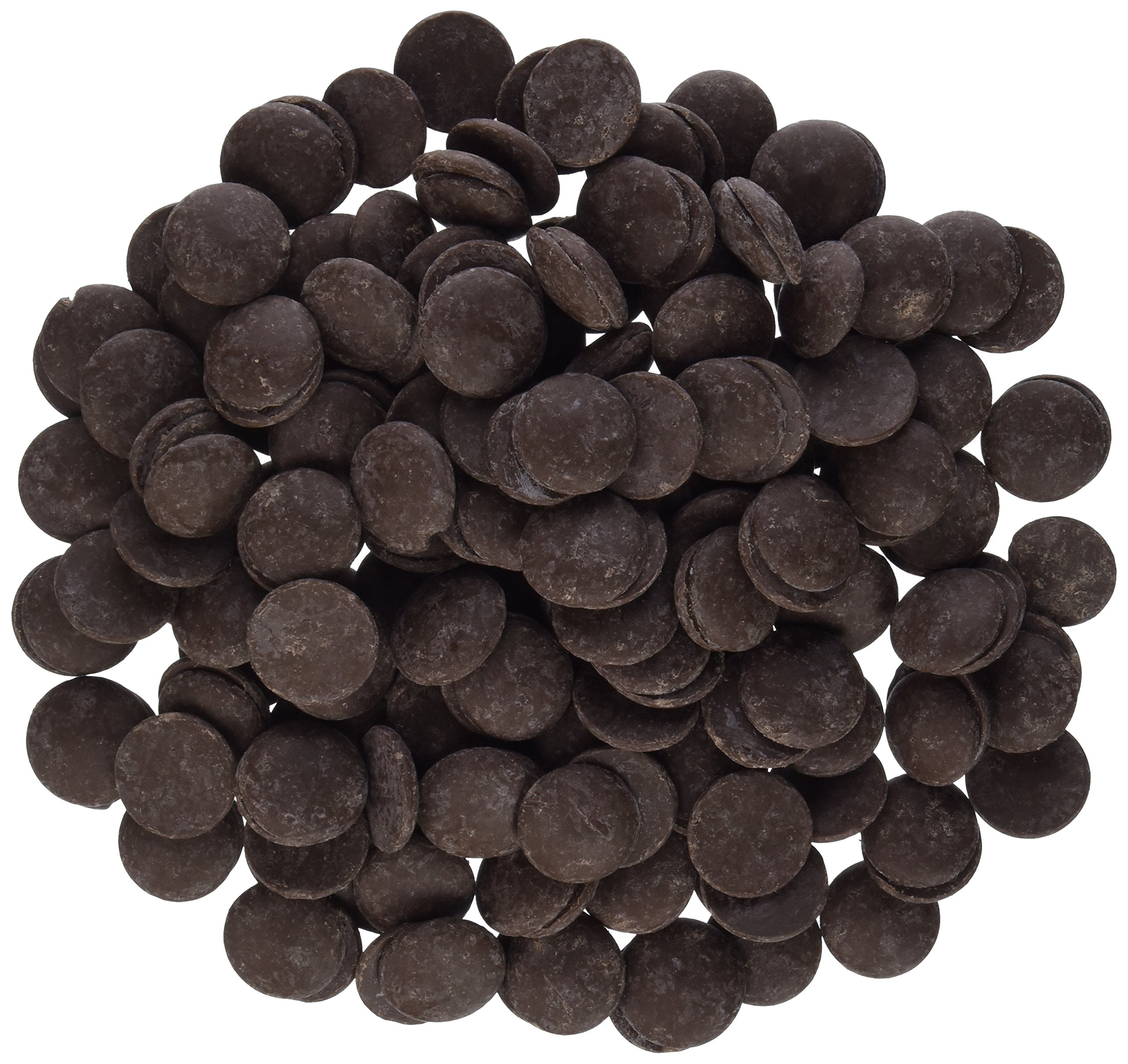 Oasis Supply Mercken's Chocolate Wafters Candy Making Supplies, Dark, 10 Pound by Oasis Supply (Image #1)