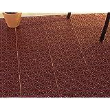 Pure Garden Interlocking Patio, Deck Or Garage Floor Tiles - 12 X 12